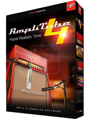 amplitube 4 complete v4.8.2  win ou mac
