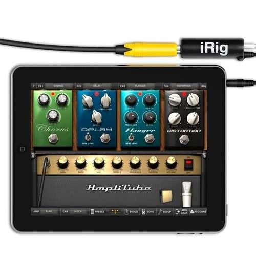 amplitube irig para ipad iphone ipod conecta tu guitarra