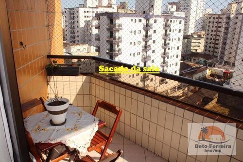 amplo 2 dormitórios com suíte na guilhermina em praia grande - ap0256