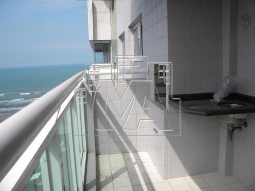 amplo apartamento com 02 suítes - vista mar
