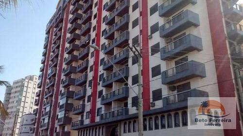 amplo apartamento com 4 dormitórios em praia grande na vila guilhermina, frente mar - ap0104