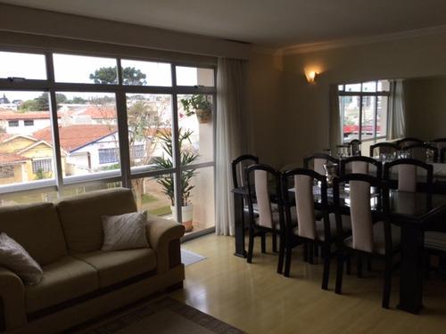 amplo apartamento no bairro rebouças - 03 dormitórios/suíte