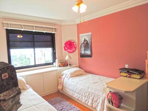 amplo apartamento renovado, ambientes com muita claridade! porteira fechada. - 375-im287970