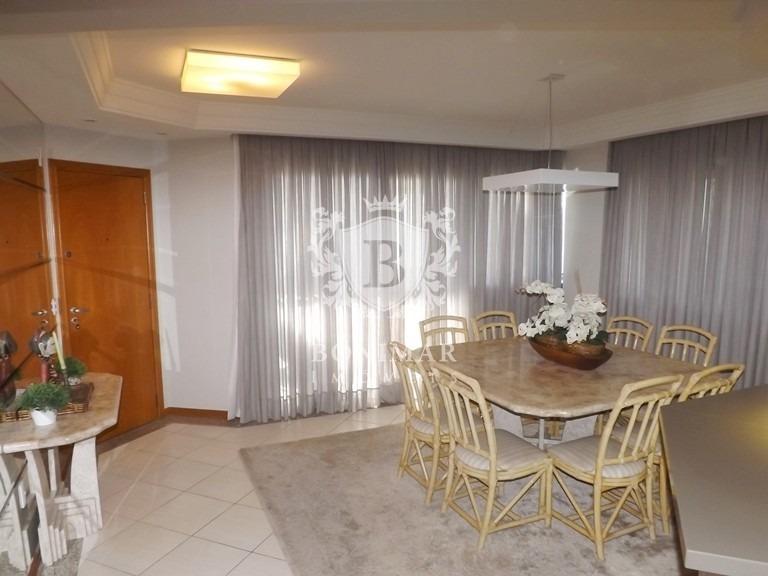amplo e confortável apartamento frente ao mar - l198