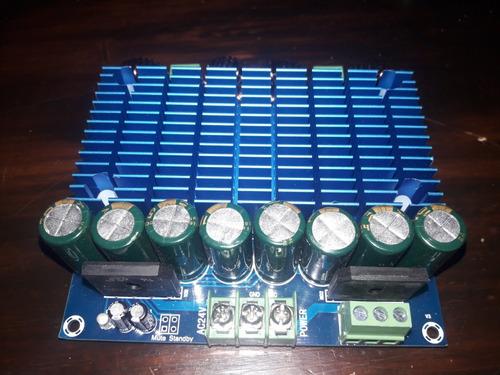 ampmificador clase d modulo 420w x 2!