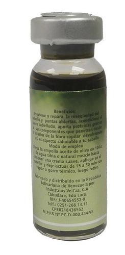 ampolla capilar aceite oliva  und 14ml  5 unid