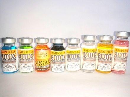 ampolla capilar de botox ambarina x 24 keratina cirugia cap