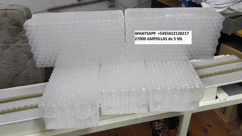 ampolla de 5 ml transparente  27000 ampollas virgenes