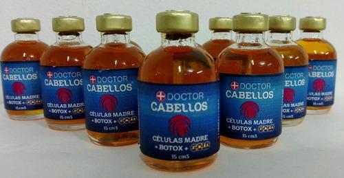 ampolla doctor cabello gold x 12 unidades cada uno de 15 ml