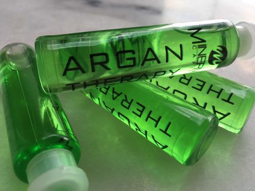 ampollas  argan therapy de minerva capilar - 4u o 8u x $350