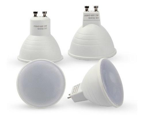 ampolleta gu10 7w = 60 watts tipo dicroica sec / hb led