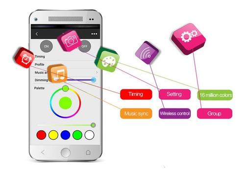 ampolleta inteligente wifi luz domotica ios android celular