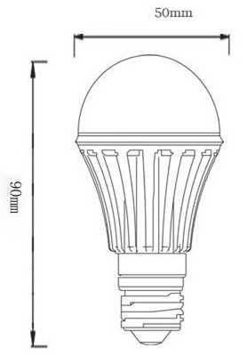 ampolleta led 3w luz/blca e27 ver otras potencias disponible