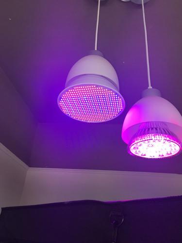 ampolleta led 54w full spectrum cultivo indoor equivale 160w
