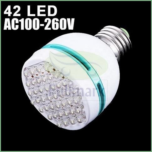 ampolleta luz 42 led  bajo consumo