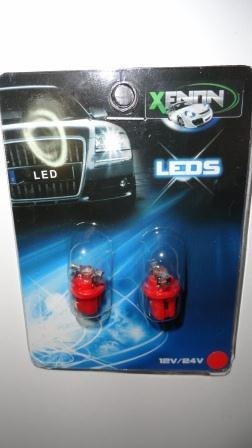 ampolletas 1 led b8.5d rojo (tableros)
