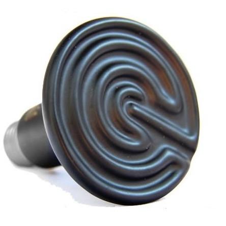 ampolletas de cerámica 100 watts calefactoras erizos pethome