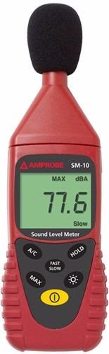 amprobe  sm-10  medidor de sonido