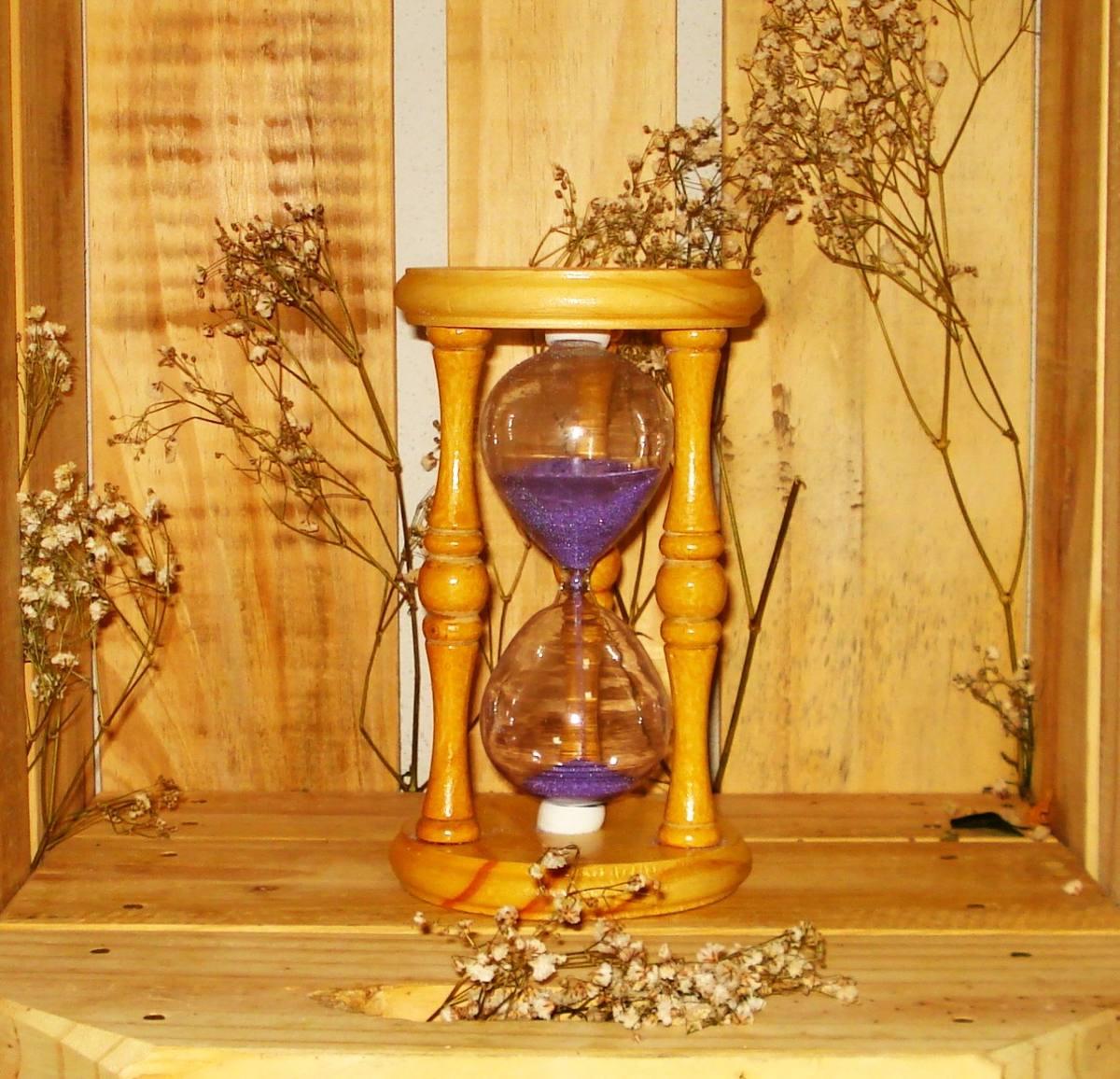a2213e83851 ampulheta de madeira - vidro de areia - relógio de areia. Carregando zoom.
