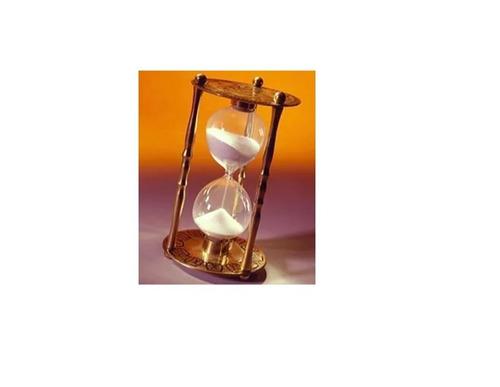 ampulheta timer decorativa 15 minutos