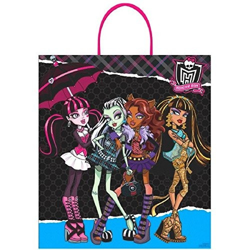 amscan monster alta birthday ghoulfriends loot bolso 16 x 14