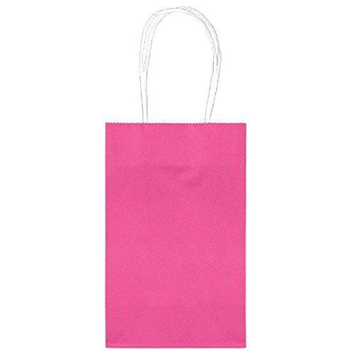 amscan party friendly bolso de color sólido y bolsos con tr