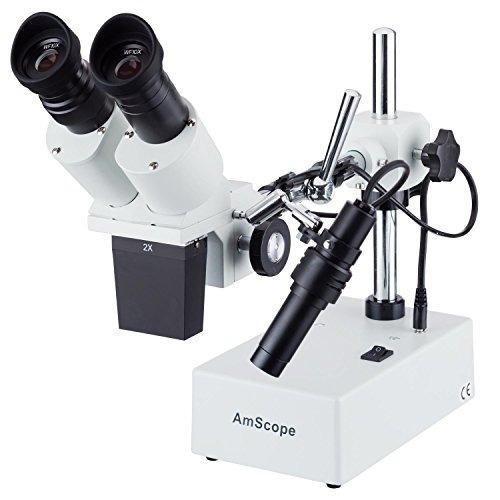 amscope se420y professional binocular stereo microscope, wf1