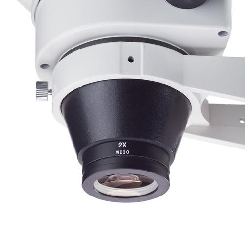 amscope sm20 2x lente barlow para sm y estéreo microscopios