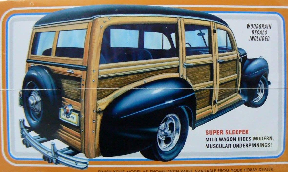Amt 1 25 906 1941 Ford Custom Woody Street Rods 144000 En Station Wagon Cargando Zoom
