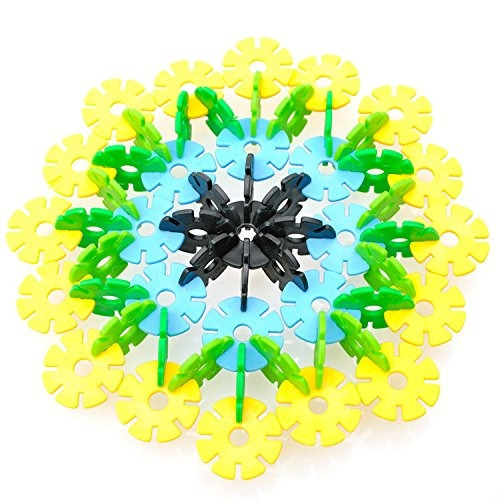 amtoys snow flakes 400 discos | stem educational brain bui