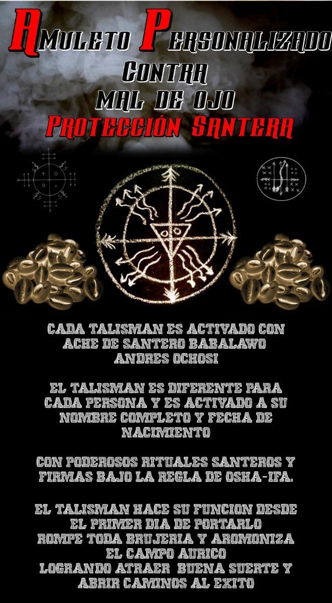 Amuleto De Santeria Cubana Para Atraer Amor Suerte Y Dinero ...