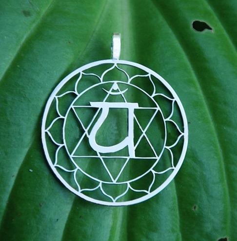 Amuleto Medallon 4to Cuarto Chakra Anahata + Cadena (amor) - $ 6.000 ...