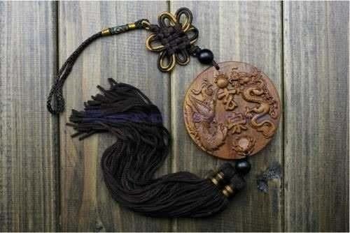amuleto, pingente, buddha, sorte, proteção, dragão, dinheiro
