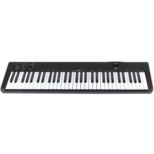 amw p61 . teclado controlador midi . 61 teclas . loja . gtia