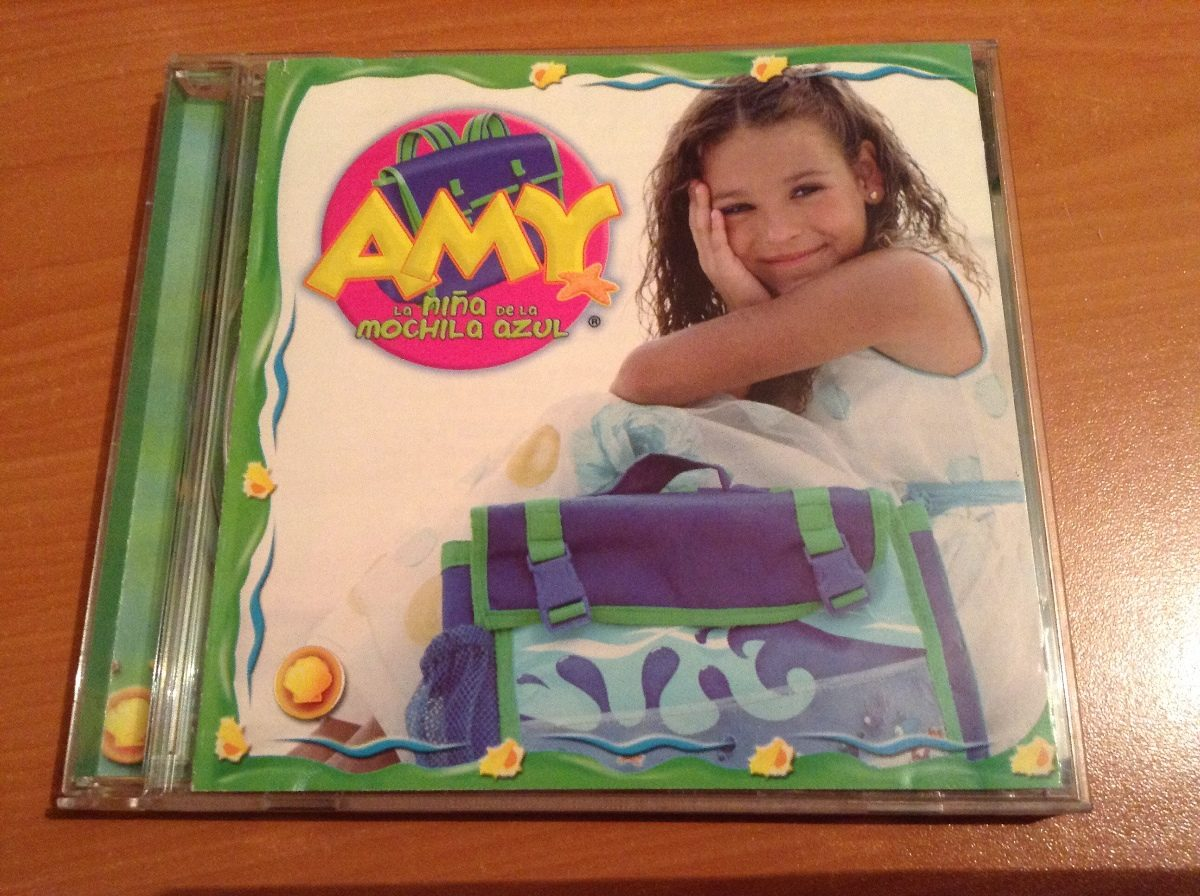 Amy A Mochila Azul amy la niña de la mochila azul cd album - $ 199.99