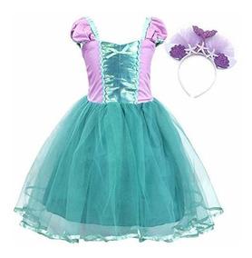 Amzbarley Disfraz De Sirena Para Disfraz De Princesa Ariel