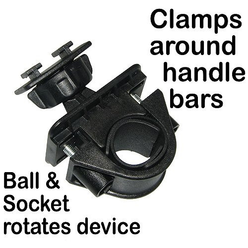 amzer amz91414 bicycle handlebar mount for htc inspire 4g