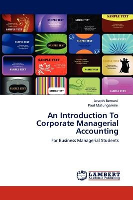 an introduction to corporate managerial account envío gratis