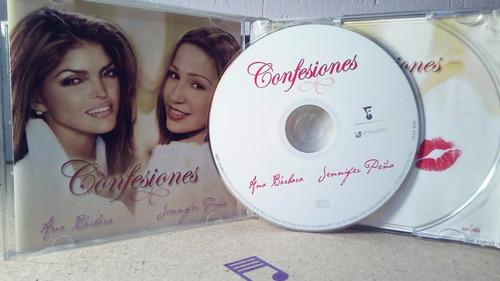 ana bárbara jennifer peña cd confesiones excelente