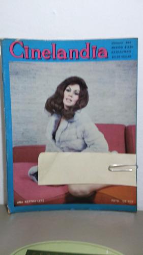 ana bertha lepe revista cinelandia jul 1970