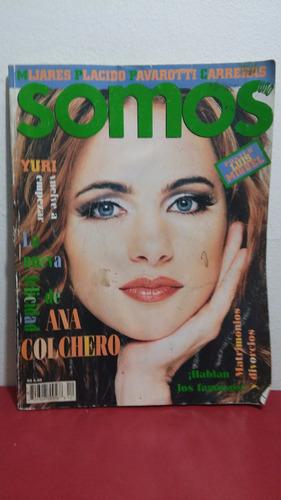 ana colchero revista somos agosto 1994