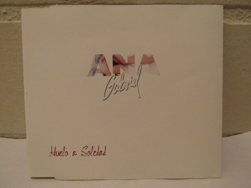 ana gabriel - huelo a soledad ( cd single exclusivo )