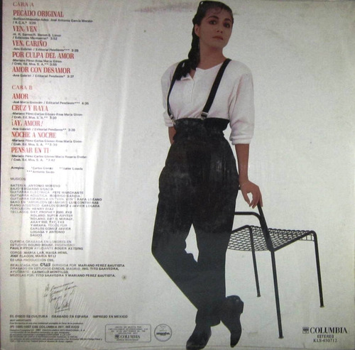 ana gabriel - pecado original lp