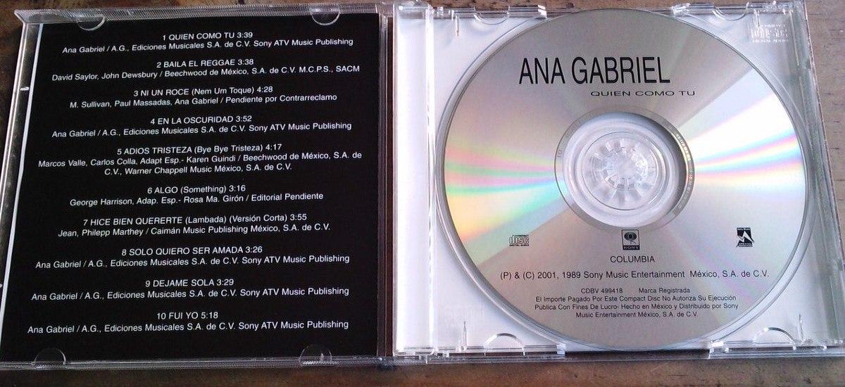 Ana Gabriel - Quien Como Tú
