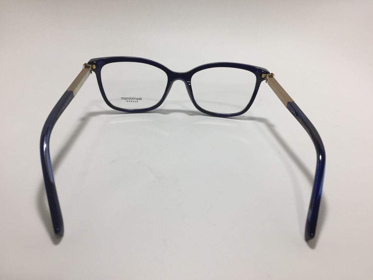 Ana Hickman Oculos De Grau Paris L Ocean 54 18 140 - R  488,00 em ... 2cd47e200d