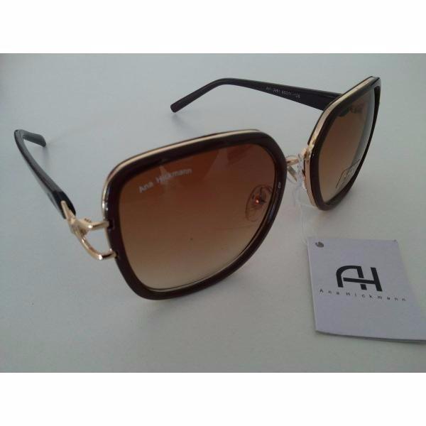 Kit Oculos De Sol Ana Hickman Original Feminino + Brinde - R  120,25 ... 7c5af6366f