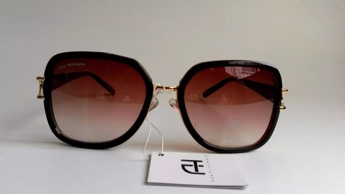 c0188ca9114d1 Oculos De Sol Ana Hickman Original Feminino Super Brinde - R  120,16 em  Mercado Livre