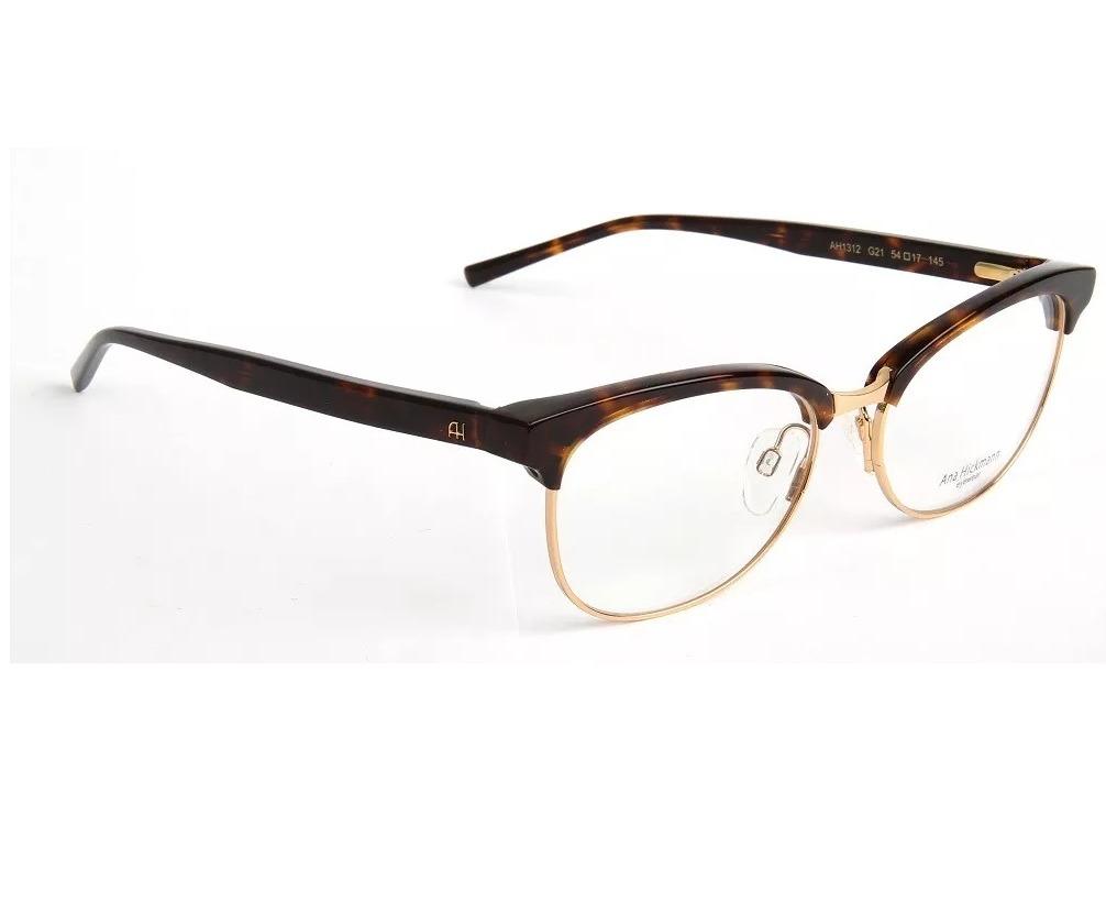 Ana Hickmann Ah 1312 G21 Óculos De Grau Feminino 5,4 Cm - R  359,00 ... ae127bf15e