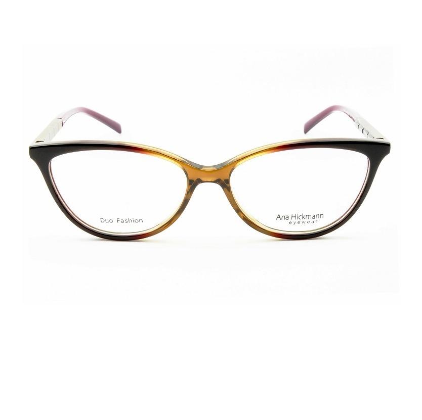 Ana Hickmann Ah 6242 C02 Óculos De Grau Feminino 5,3 Cm - R  359,00 ... 709547b525