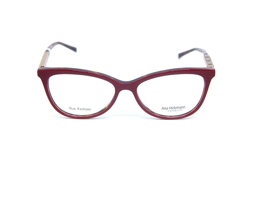 Ana Hickmann Ah 6245 G22 Óculos De Grau Lentes 5,2 Cm - R  359,00 em ... 6647d683cd